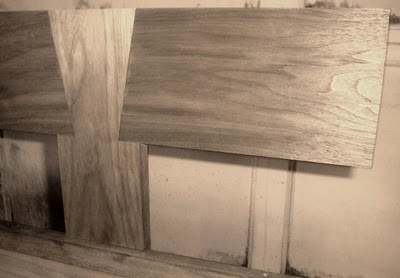 Attaching Walnut Headboard