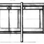 sideboard drawing