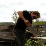 sawing timber 1