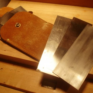 Sharpening a Card Scraper