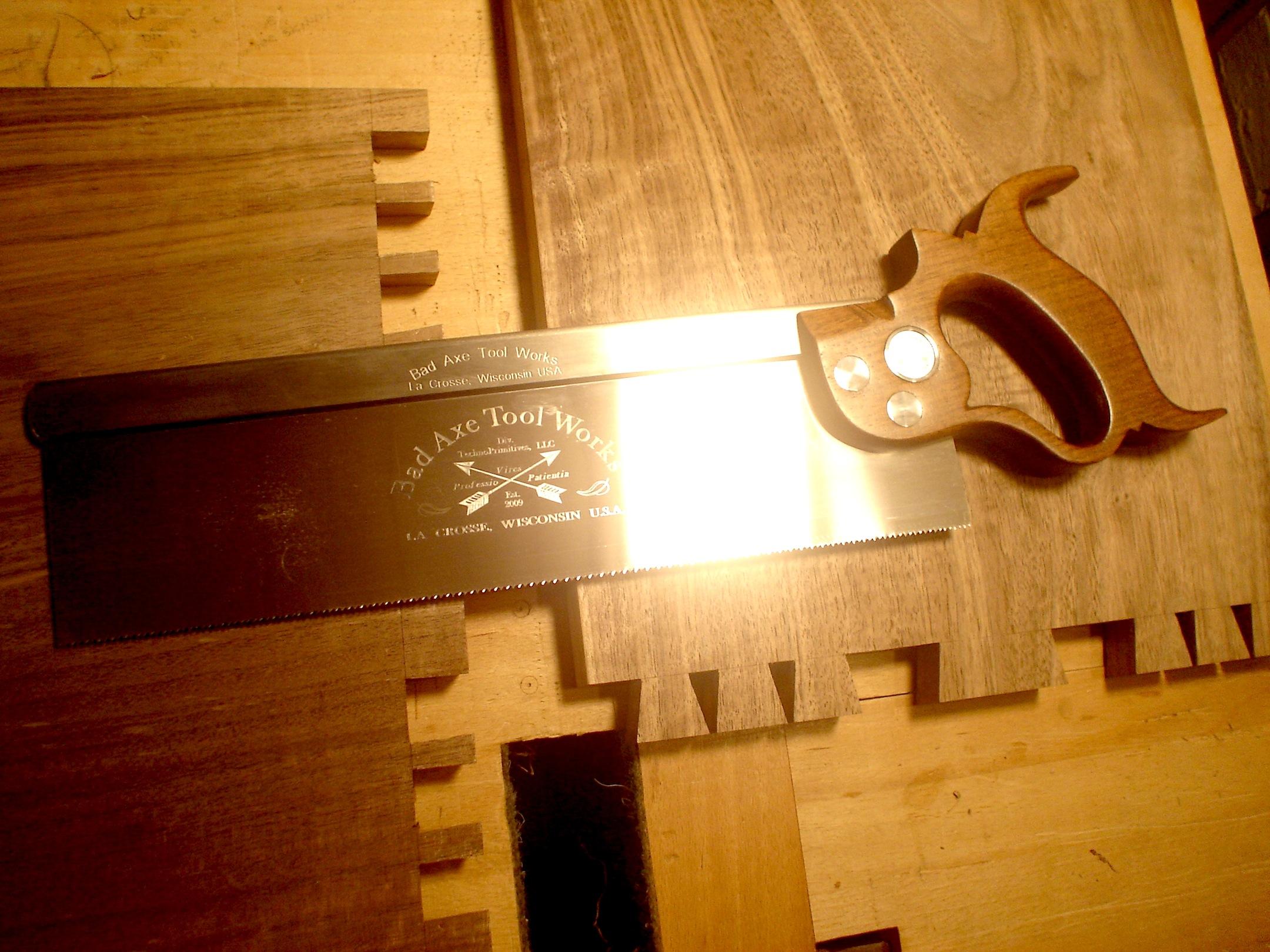 bad axe saws. the bad axe saws