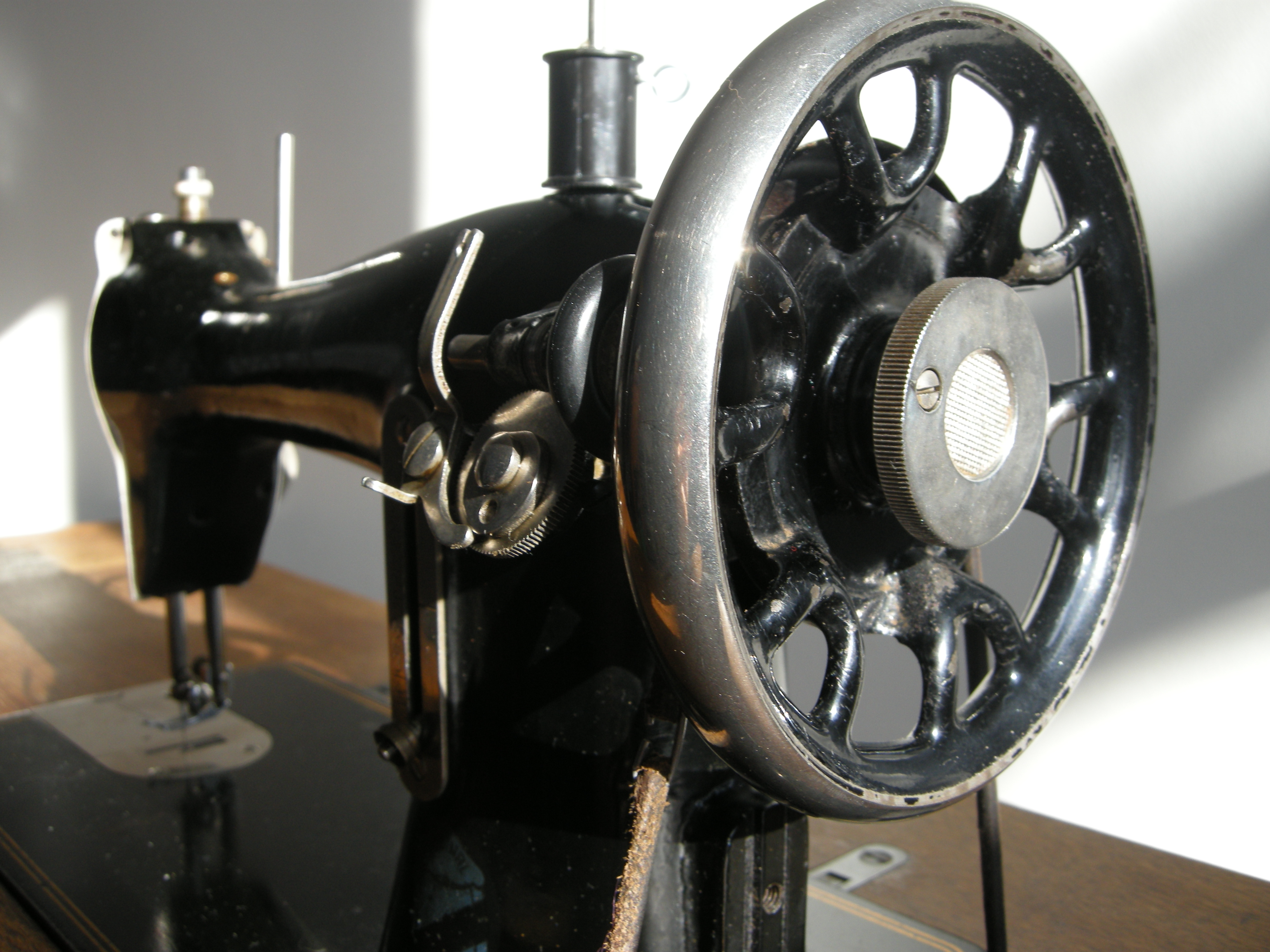 Yorck treadle sewing machine.