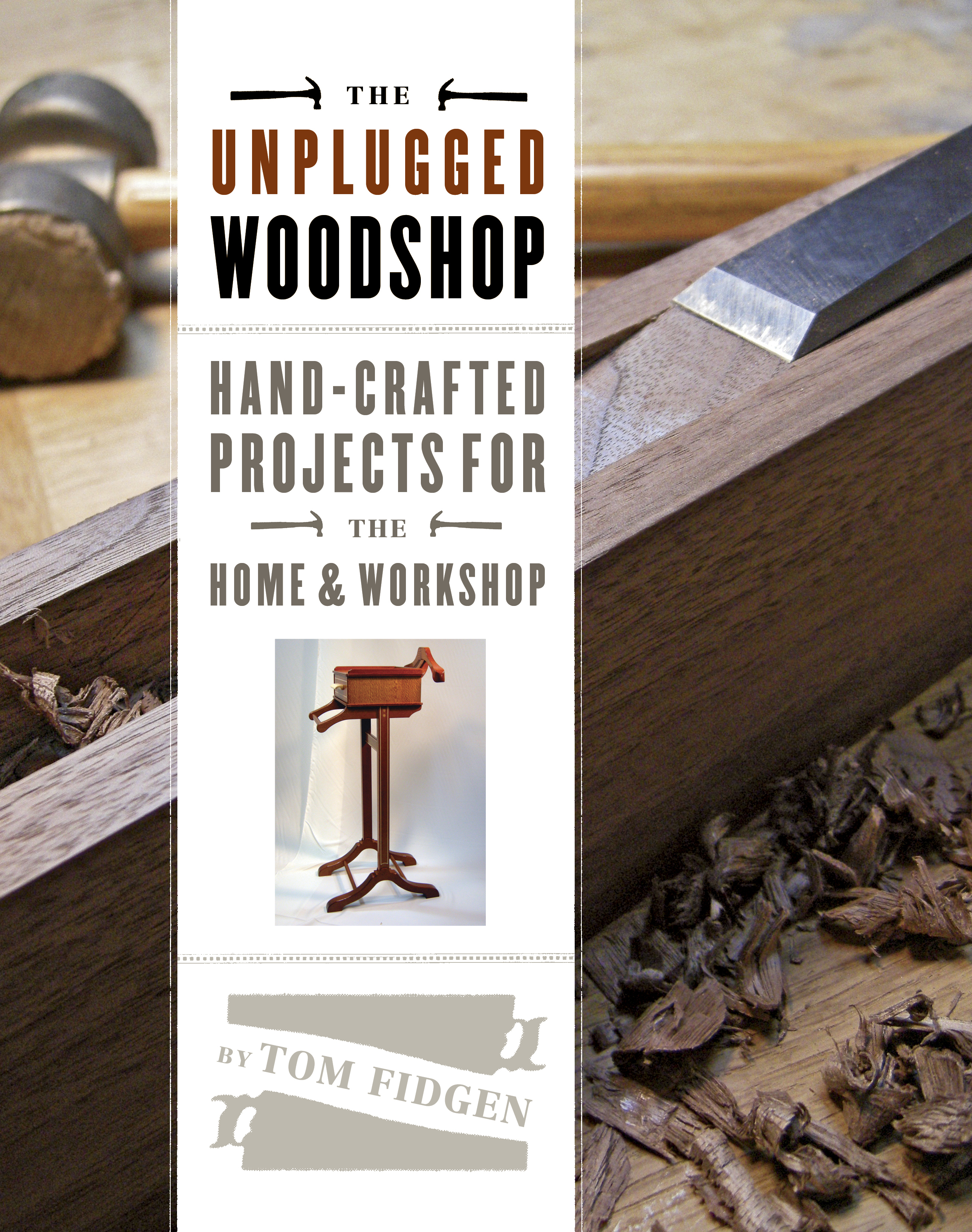 the unplugged woodshop booktom fidgen