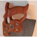 Disston D-18. This saw belonged to my grand uncle, Johnny Pier