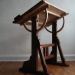 The architect's table, The Unplugged Woodshop, Tom Fidgen, woodworking, hand tools,