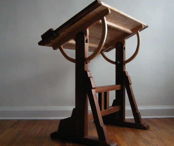 ... table, The Unplugged Woodshop, Tom Fidgen, woodworking, hand tools