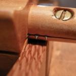 Beading tool on Lacewood molding