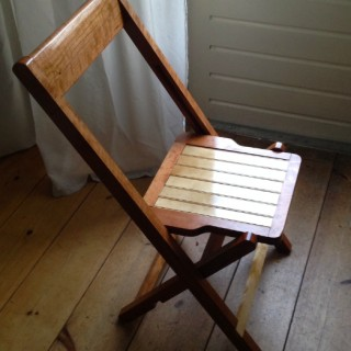 A Dutch Funeral Chair