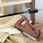 Tools for making shop sawn veneer