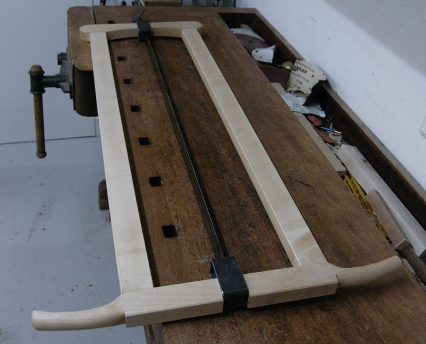 A Frame Saw in Germany
