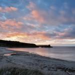 Sunset in Margaree Harbour ... one week away.