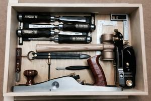 The UW Bench Kit sans brush and mallet