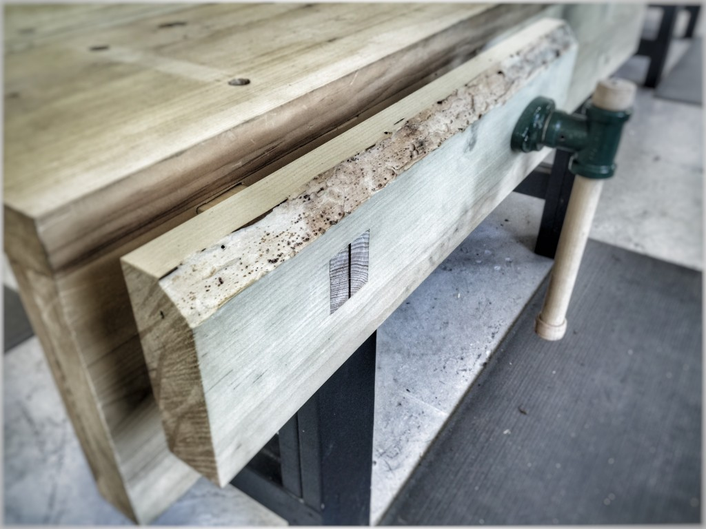 Installing A Nicholson Style Bench Vice The Unplugged