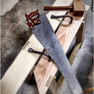 A Sawyer's Bench in Oregon