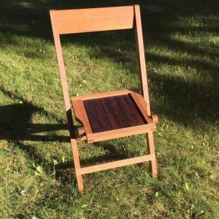 A Funeral Chair in Ontario