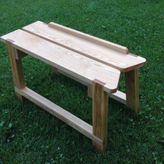 A Sawyer's Bench on Long Island