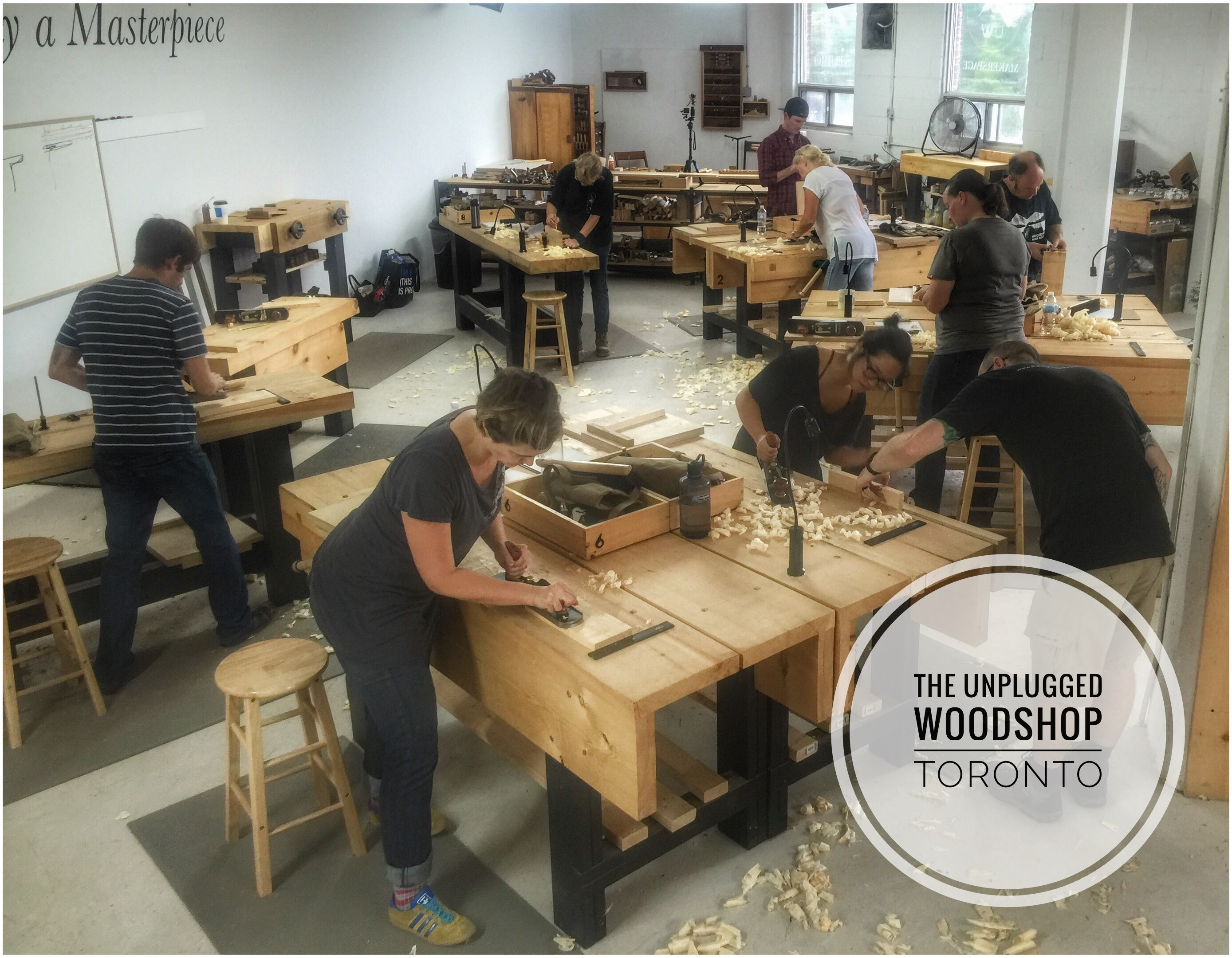 Woodworking School Archives The Unplugged Woodshop Toronto