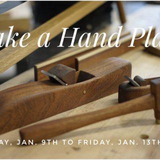 Make A Wooden Hand Plane