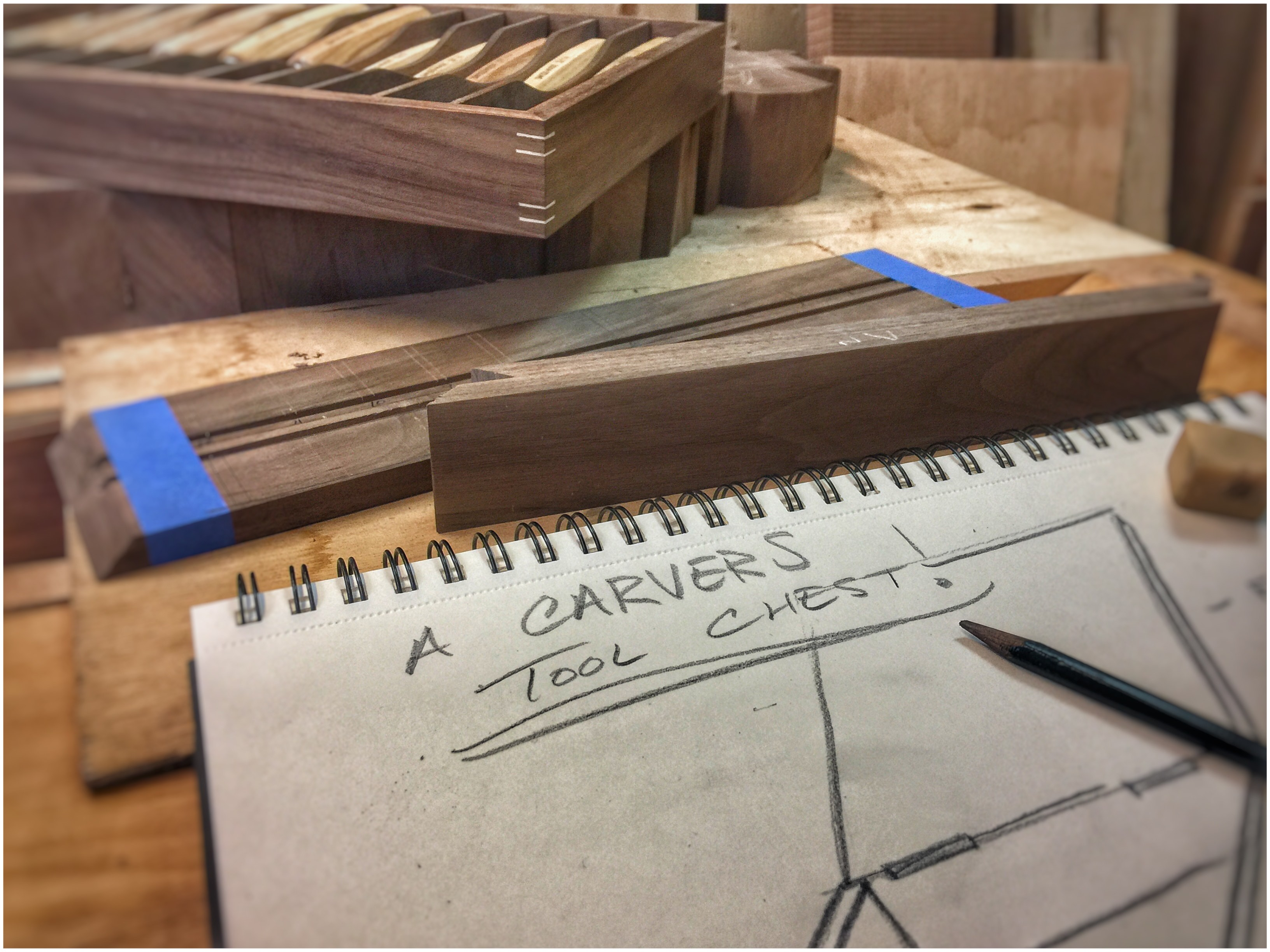 A Carver's Tool Chest – Episode 1