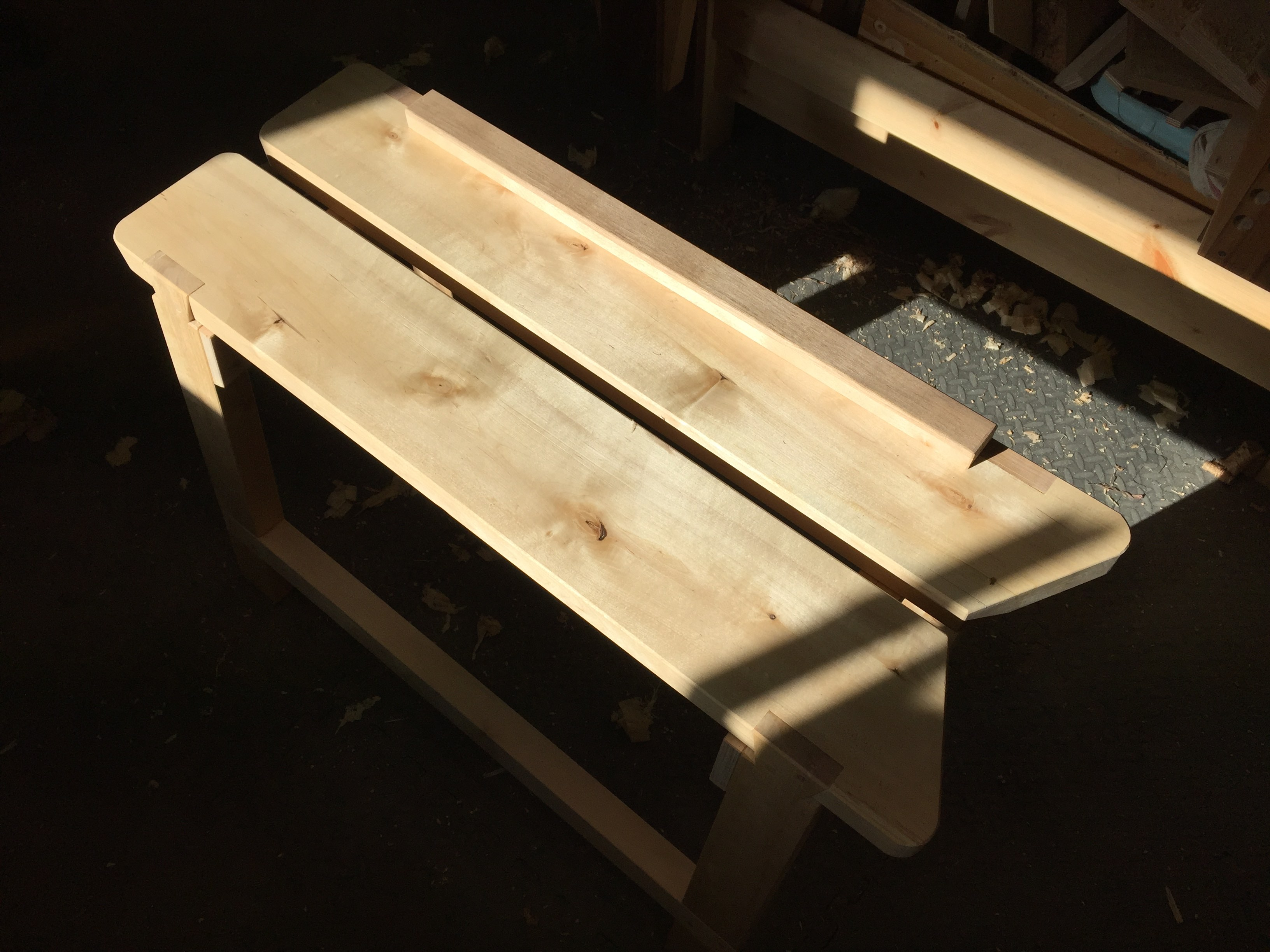 A Sawyer's Bench in Finland