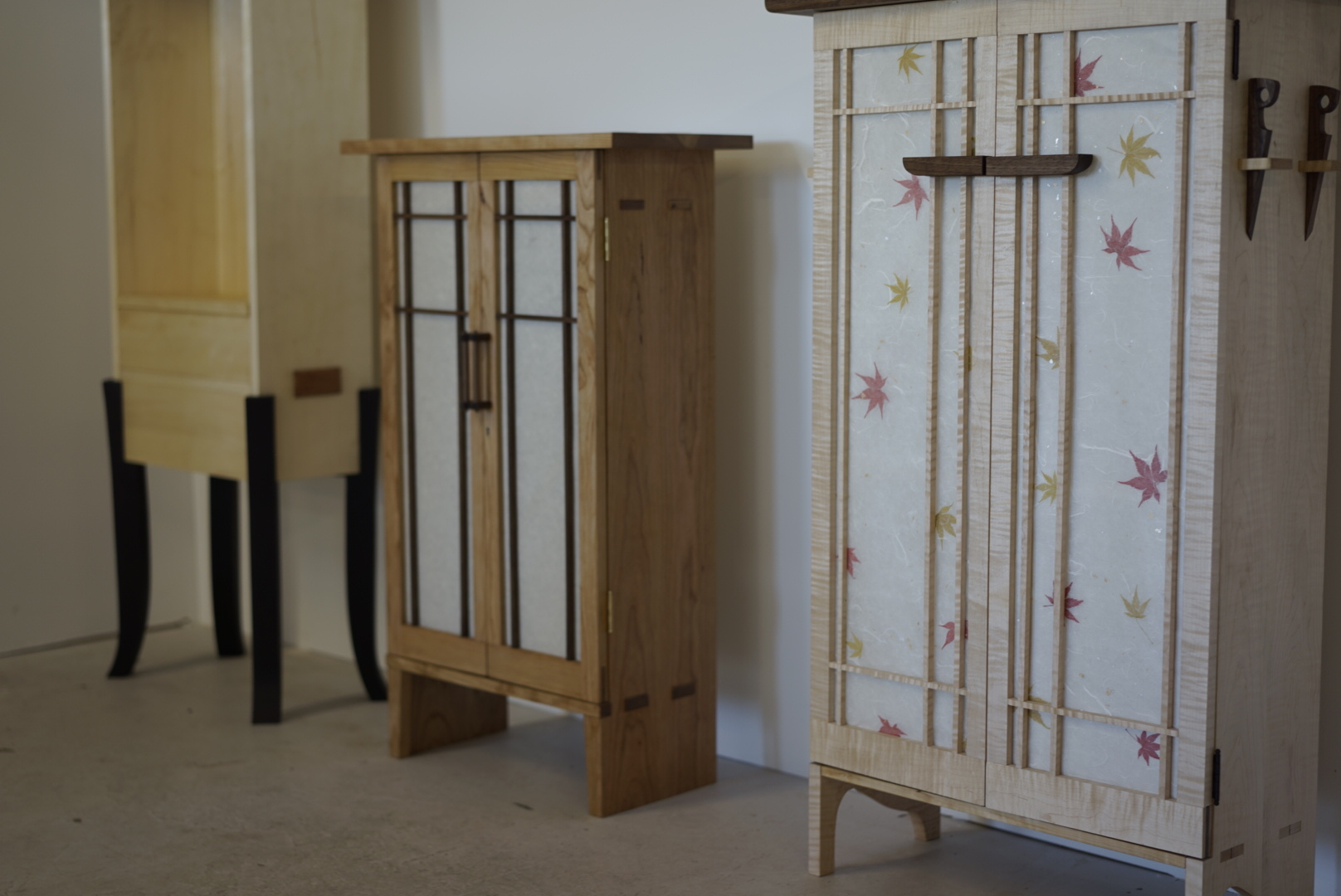 cabinets in line 2
