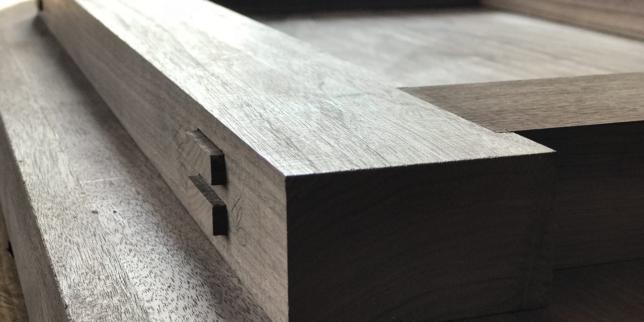 Episode 505 – HAUNCHED DOUBLE THROUGH MORTISE & TENON JOINERY