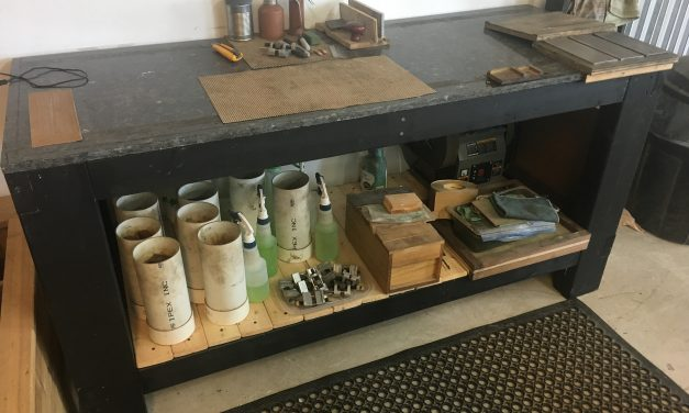 We Build a Sharpening Bench