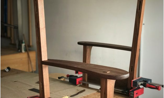 Episode 777 – An Arts and Crafts Rocking Chair part 14