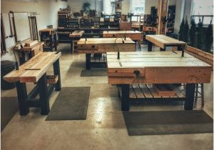 The woodshop is ready for you.