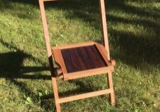 A Funeral Chair in Ontario.