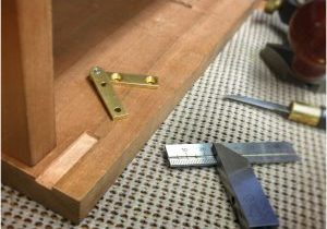Knife Hinge Installation